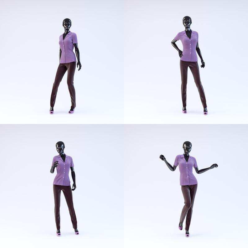 maya showroom mannequin 02