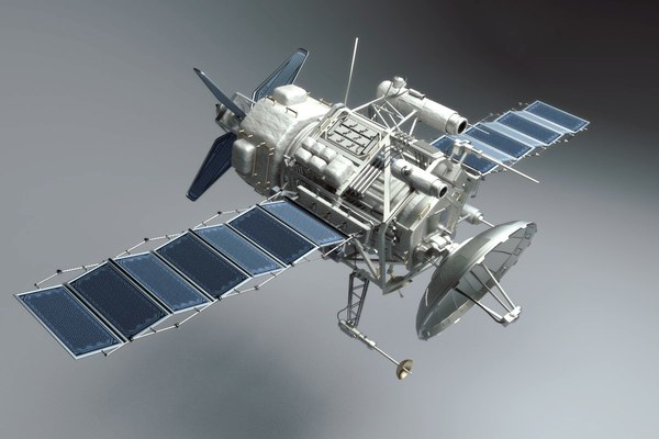 Spy Satellite (Sci Fi) 3D Models