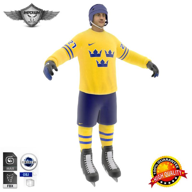 Hockey Player Sweden