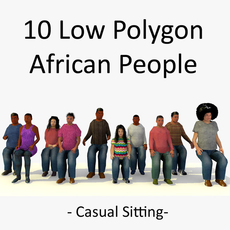 1 LOWPOLY AFRO PEOPLE SITTING COLLECTION.jpg