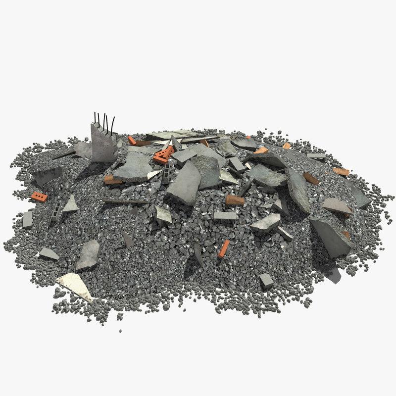 Debris 3d model