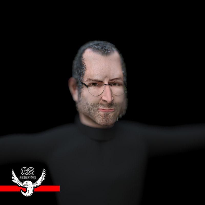 3D Models For Steve Jobs