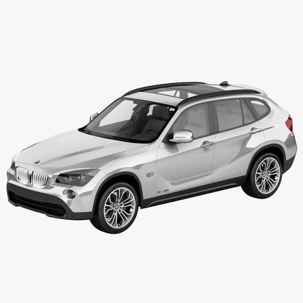 BMW X1 2010 3D Models
