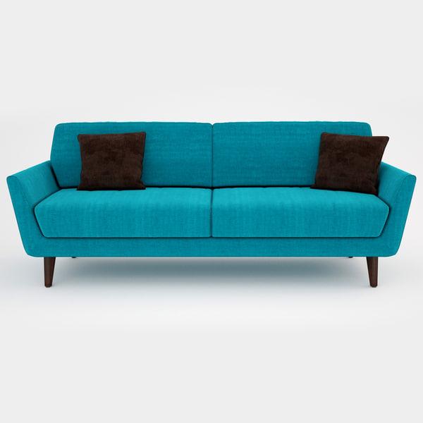Sits Rucola Sofa 3D Models