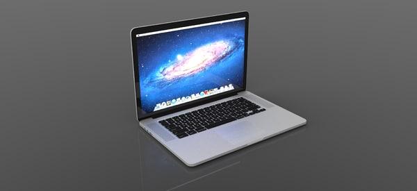 BEAUTIFUL MacBook Pro 15 inch unibody HD 3D Models