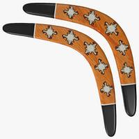boomerang 3D models