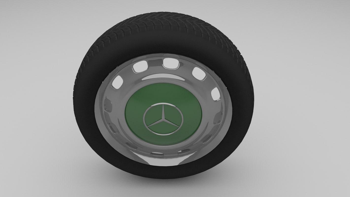 Mercedes W123 wheel