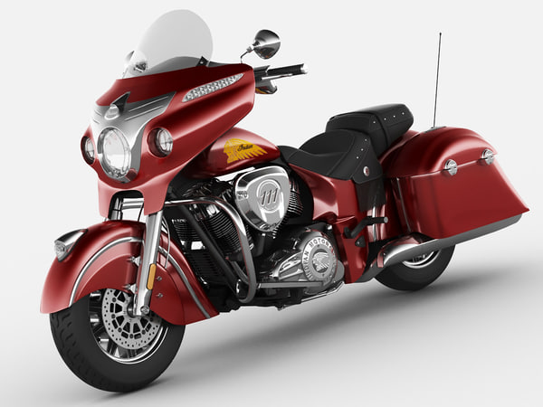 Indian Chieftain 2014 3D Models