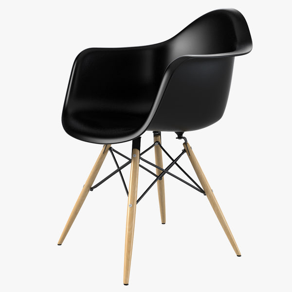 Daw Plastic Chair by Charles Ray Eames 3D Models