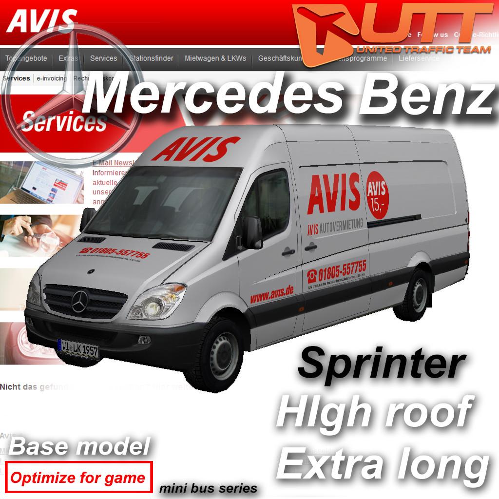 Mercedes-Benz Sprinter Avis
