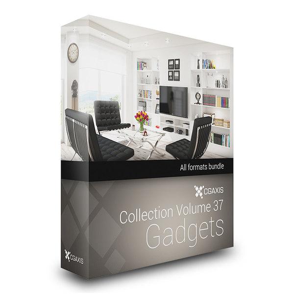CGAxis Models Volume 37 Gadgets 3D Models