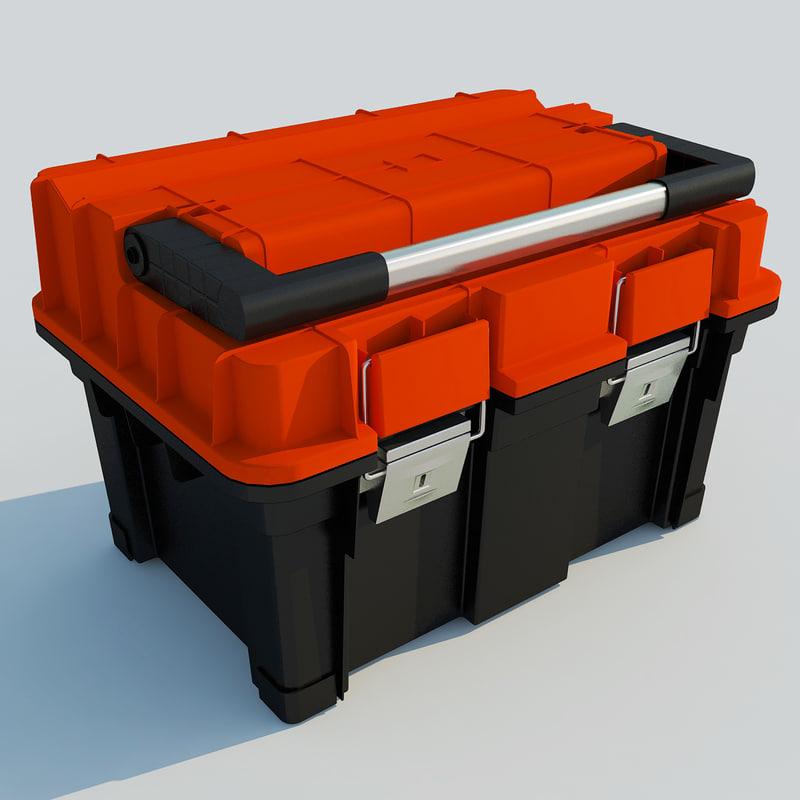 Toolbox Tool Box 3d Fbx