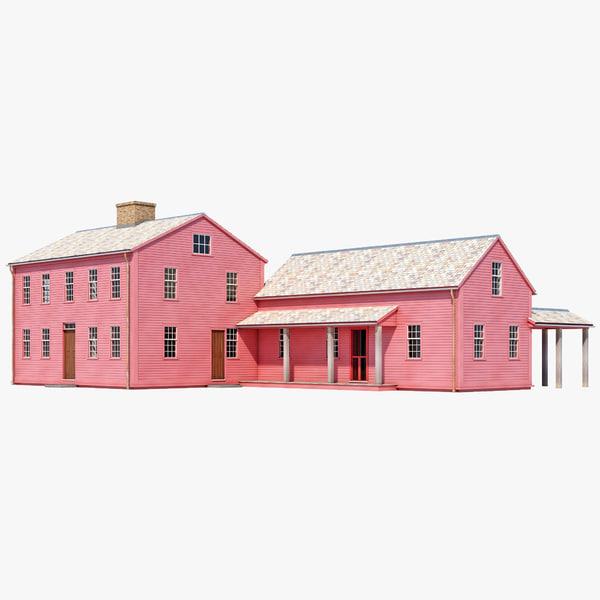 Farm House 2 3D Models