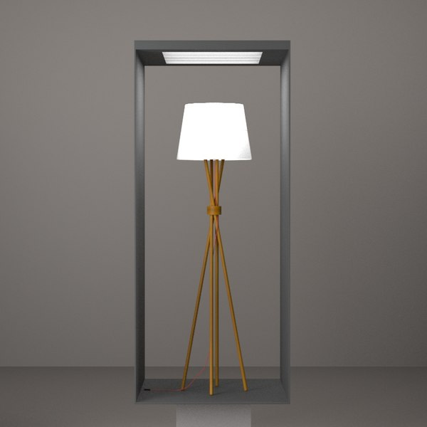 BoConcept - Main Floor Lamp Design HD Texture Maps