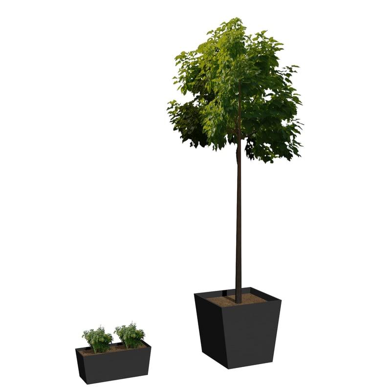 Flowerpot M-01