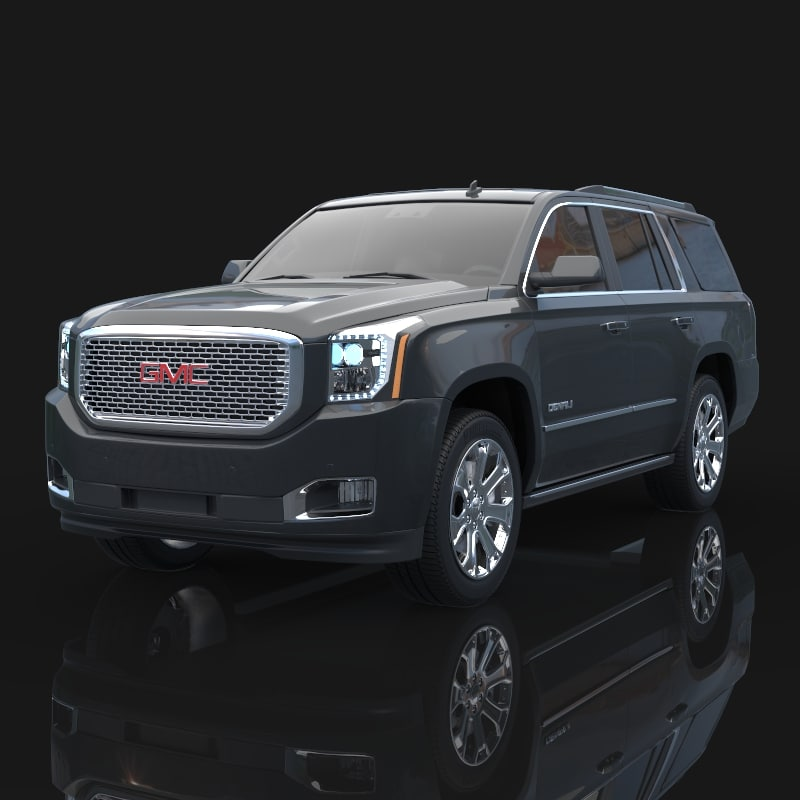2015 Gmc Yukon 3d Model