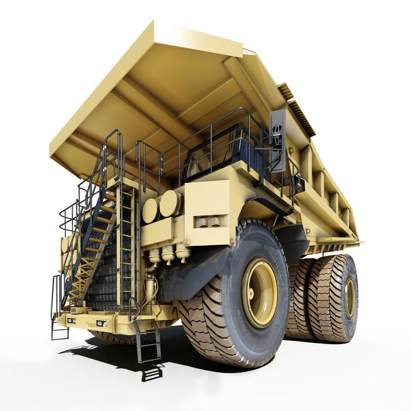 heavy truck mining truck