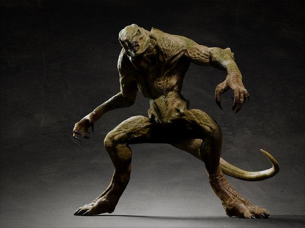 3d Creature Models Max 3ds Obj Fbx Ma