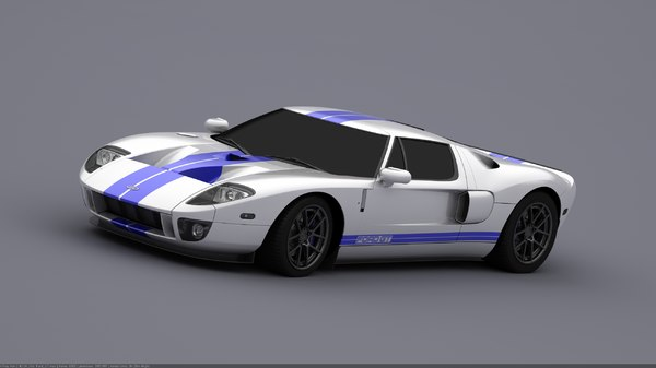 Ford GT (HQ) Unfinished Projects. 3D Models