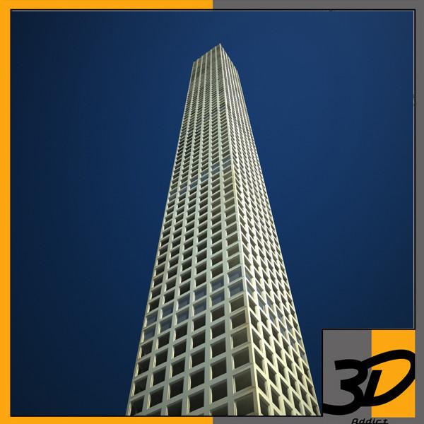 432 Park Avenue 3D Models