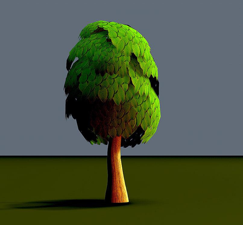 5 Ficus Trees Toon