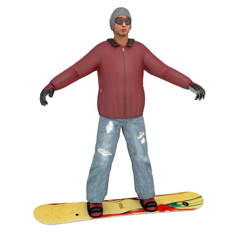 Snowboarder V2