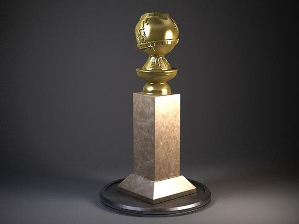 Golden Globe Award 3D Models