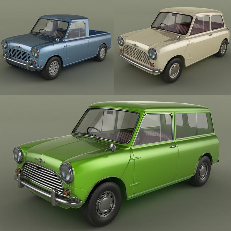Morris Mini Cars