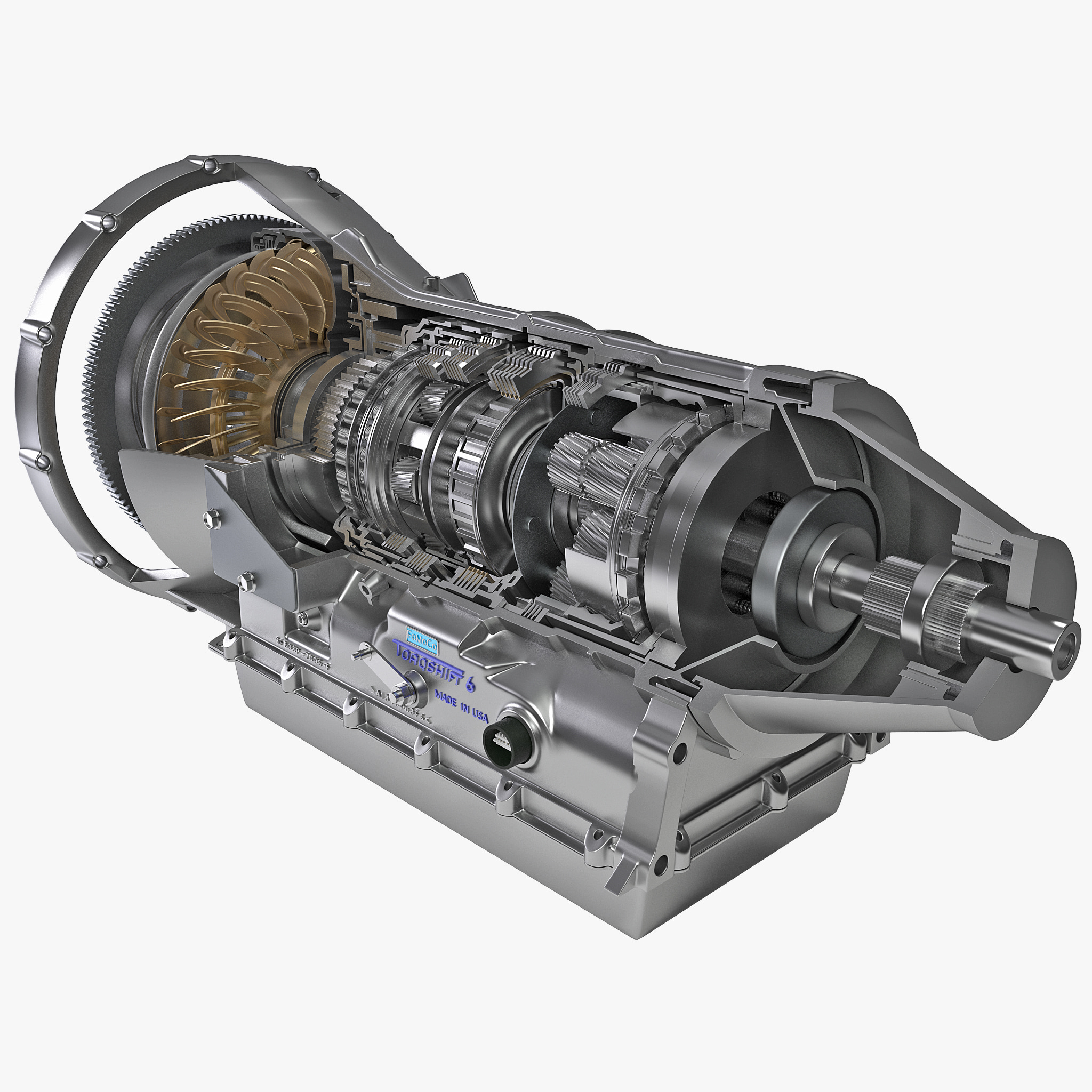Automatic Transmission: 3d Model Of Automatic Transmission