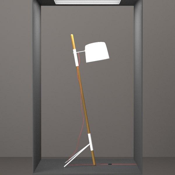 BoConcept - Outrigger Design Lamp HD Texture Maps