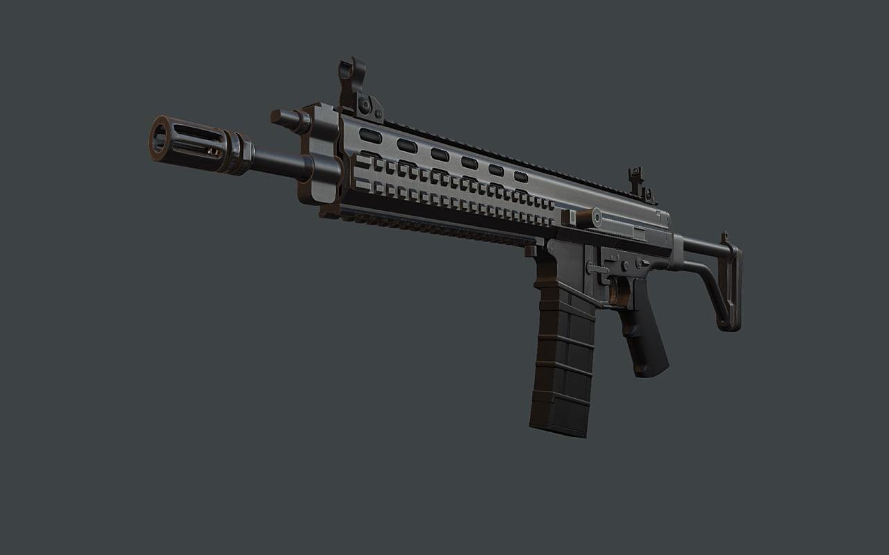 XCR Combat rifle
