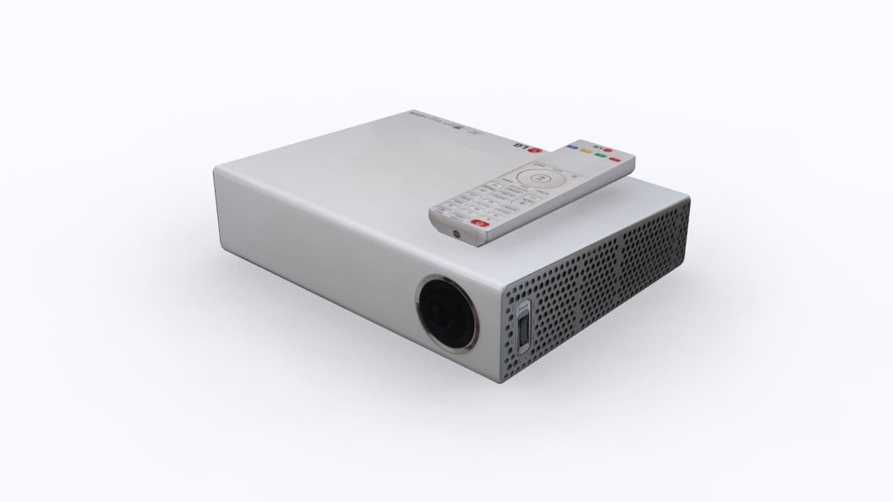 LG pa70g micro-protable  LED 3D Projector