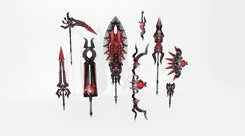 Fantasy Weapon Set