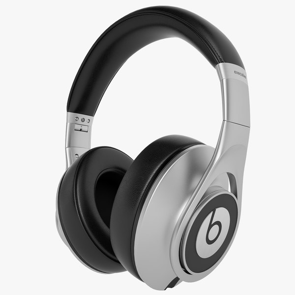 Monster Beats Executive 01 3D Models
