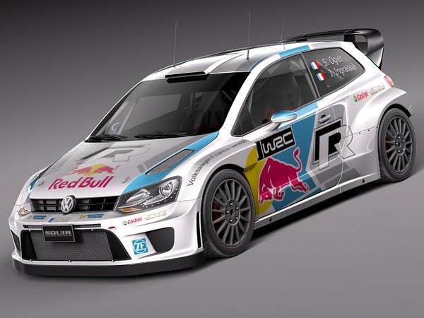 Volkswagen Polo WRC 2014 3D Models