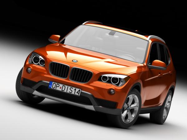 BMW X1 2013 3D Models