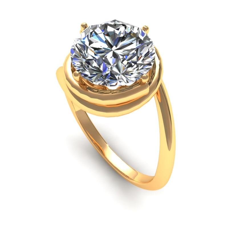 Snail Diamond Ring S35