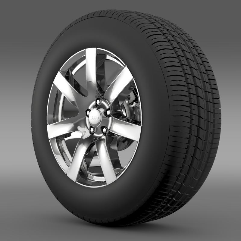 Jeep Wrangler Indian Summer 2014 wheel