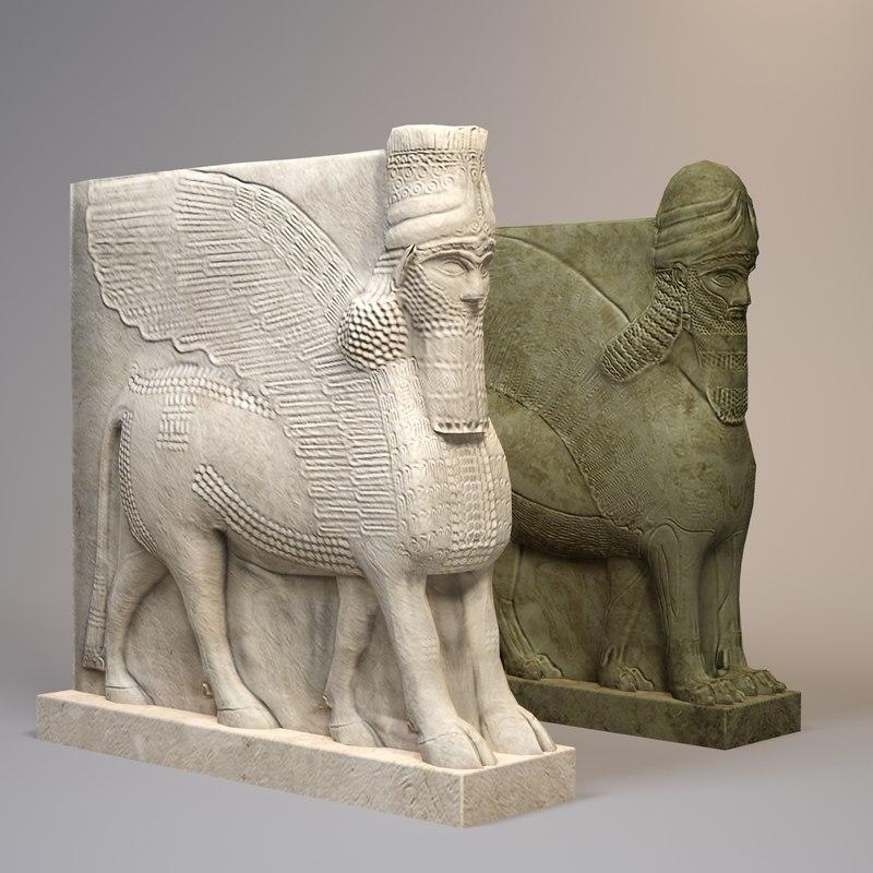 Statue Lamassu Collection