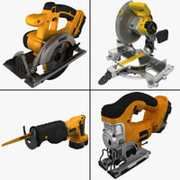 reciprocating saw 3D models