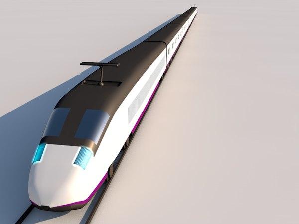 RENFE TALGO S100 (AVE) 3D Models