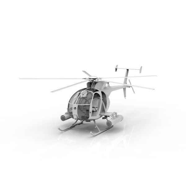 MH6 Little Bird 3D Models