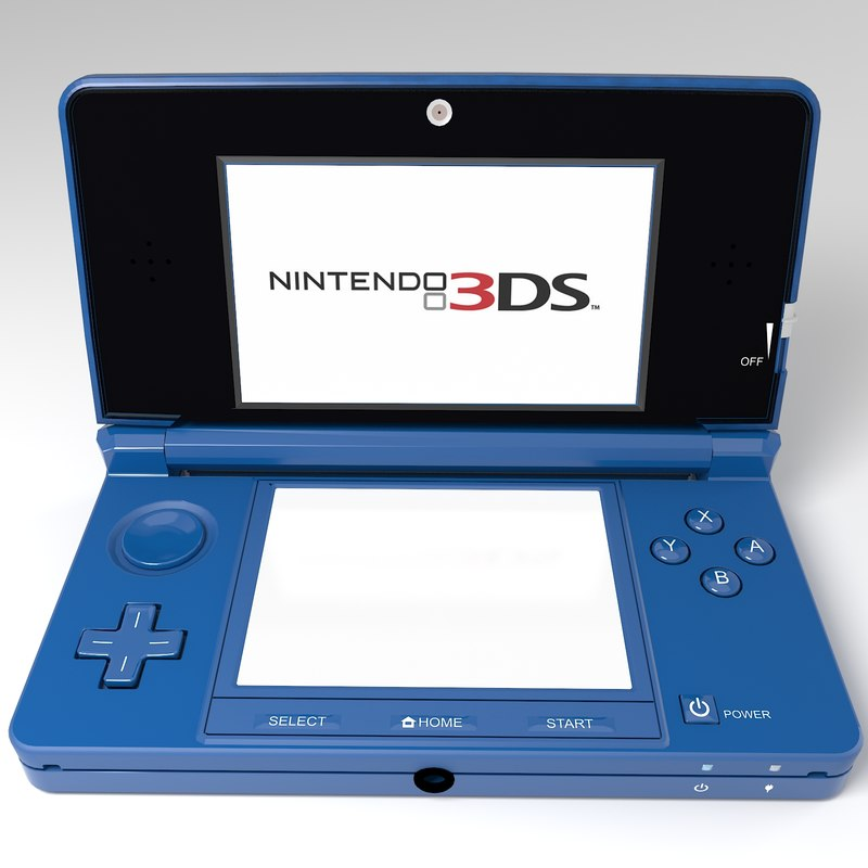 nintendo ds 3d max. Black Bedroom Furniture Sets. Home Design Ideas