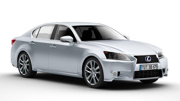 Lexus GS 450H 3D Models