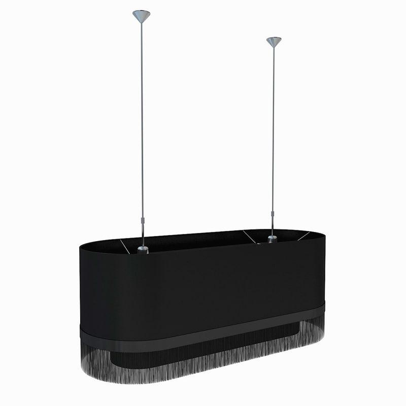 Moooi Lamp Fringe 1000