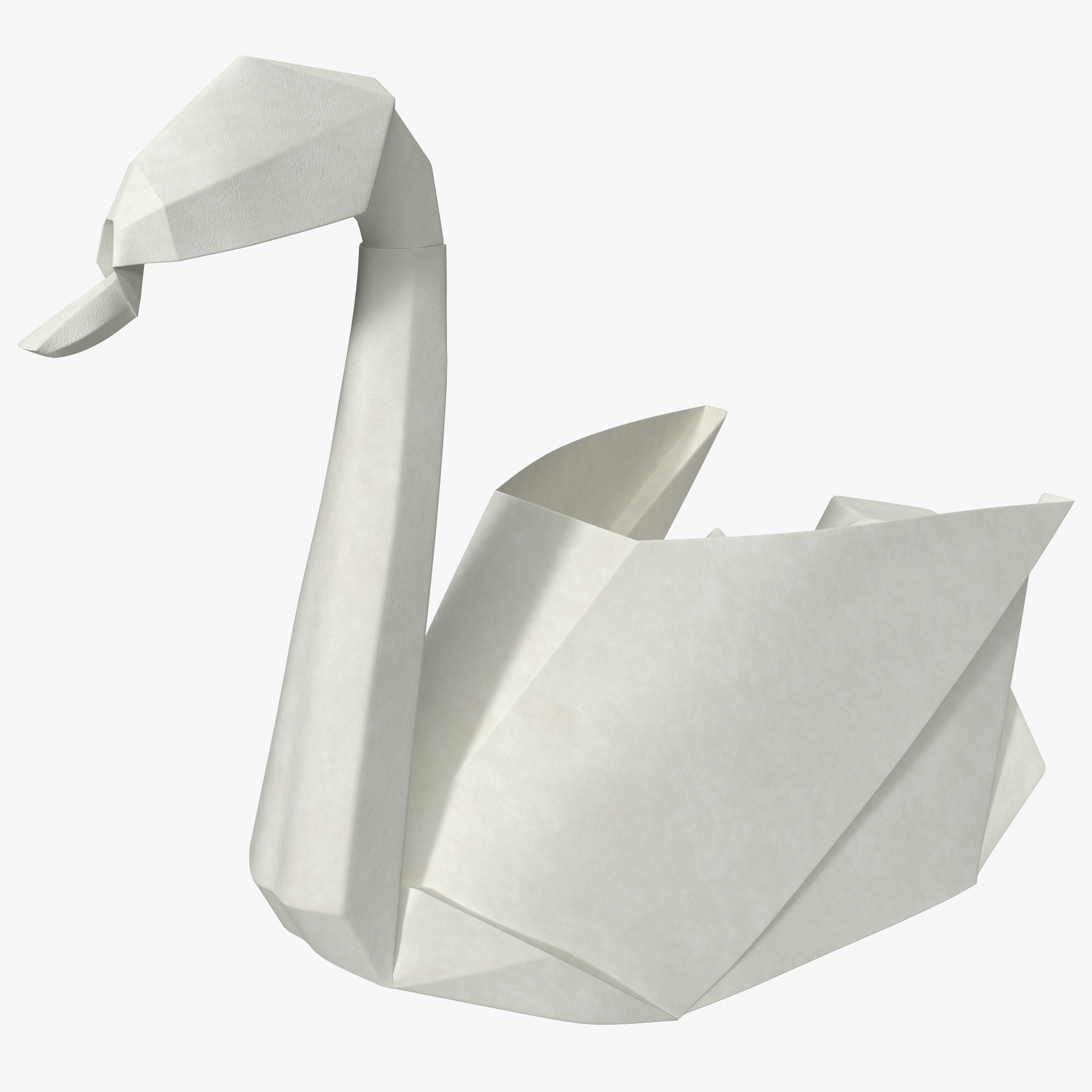 How To Make A 3d Swan Origami