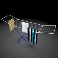drying rack 3D models