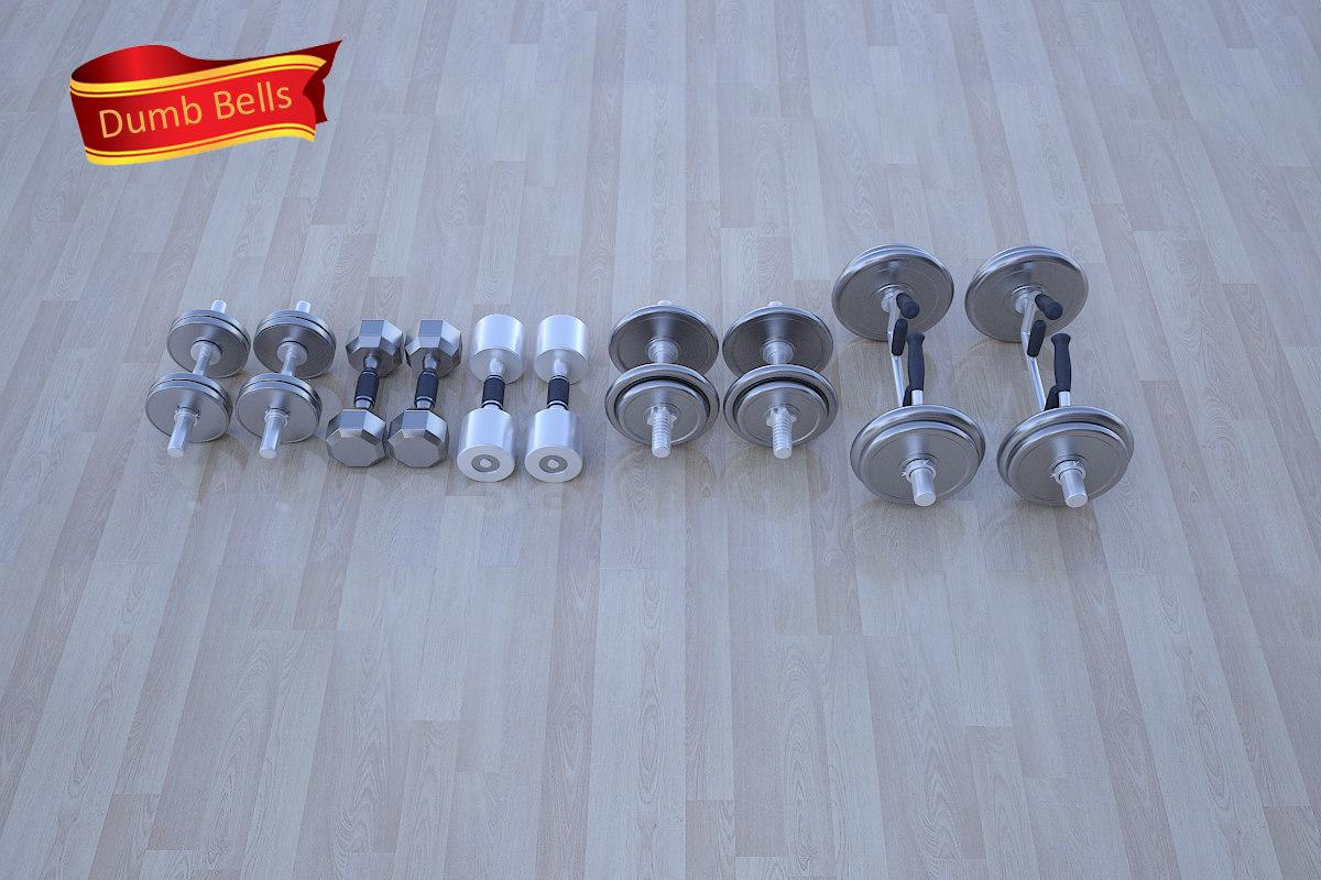 dumb bells collection
