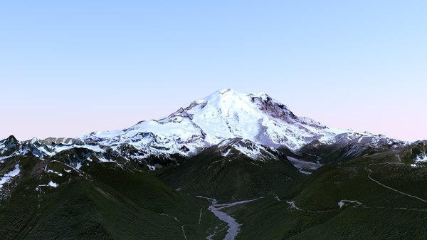 Mount. Rainier Stock Photography