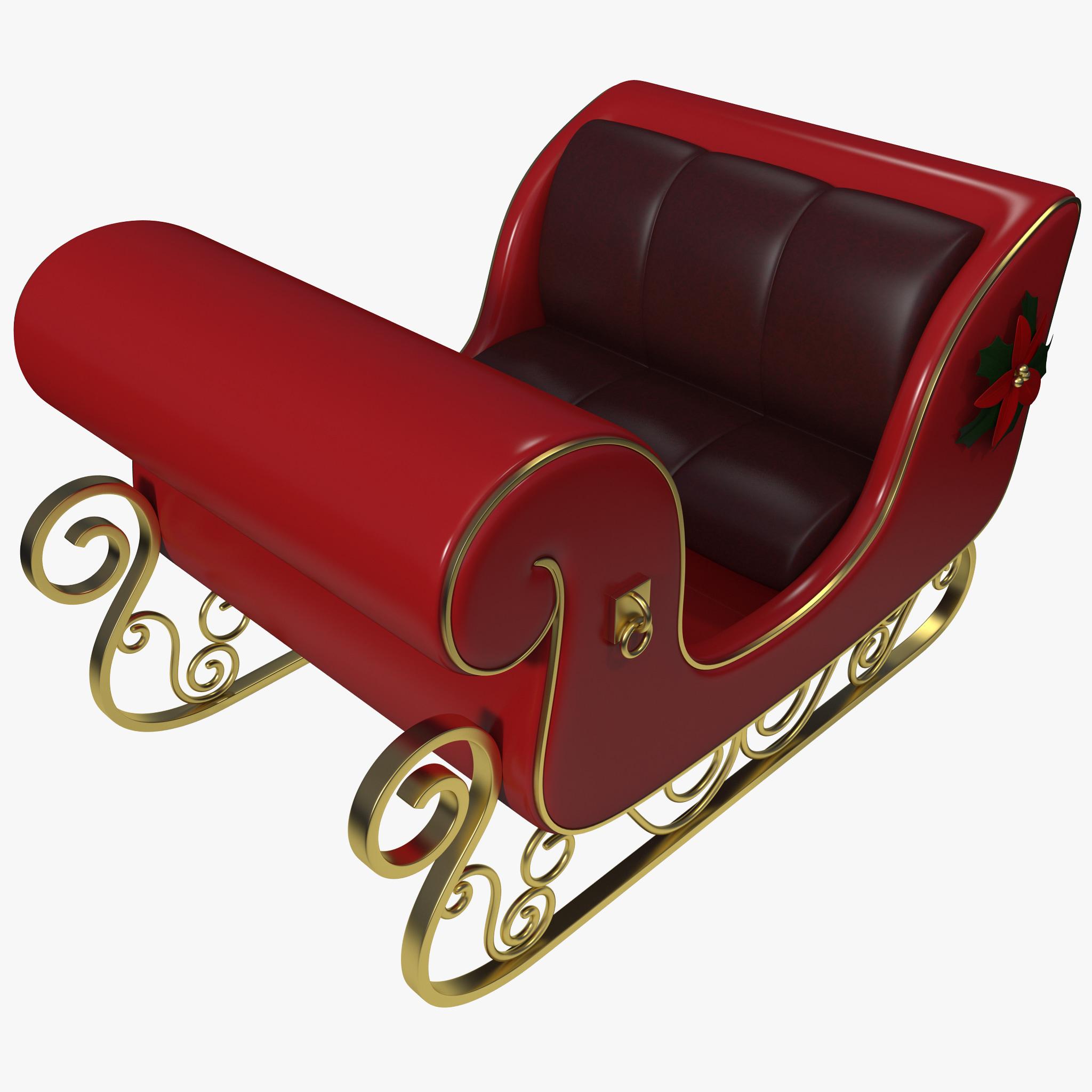 christmas sleigh - Christmas Sled